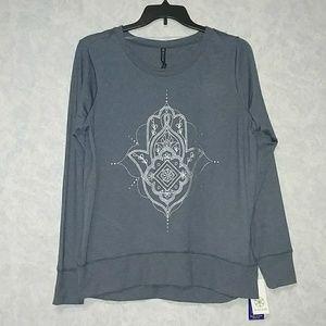 NWT Gaiam studio to street sweatshirt easy fit XL